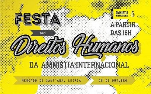 Amnistia Internacional celebra em Leiria defensores e projetos de direitos humanos