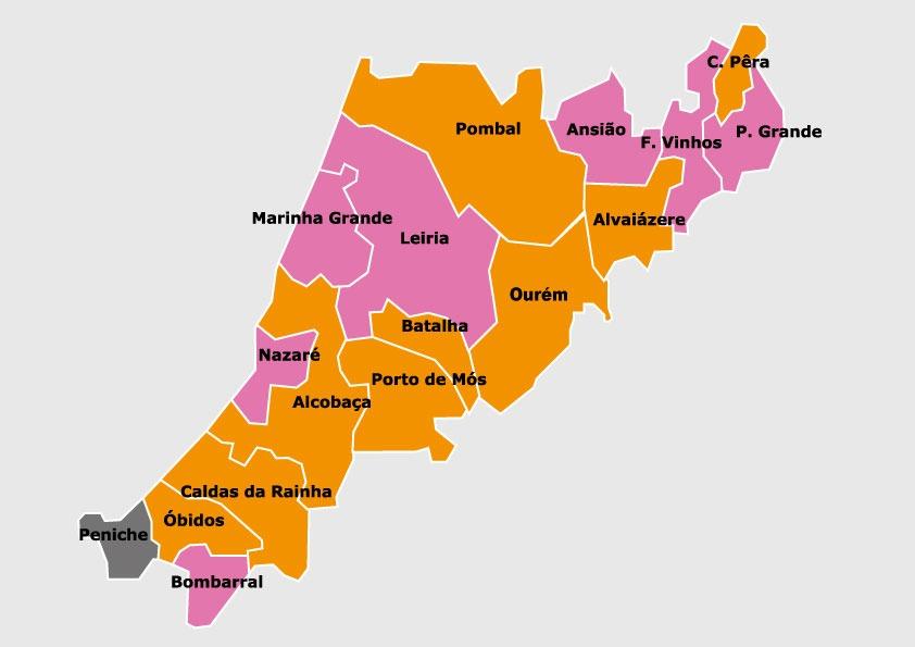 Sete concelhos mudam de cor partidária