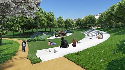 Construção do jardim da Almuinha Grande adjudicada por 2,1 milhões de euros