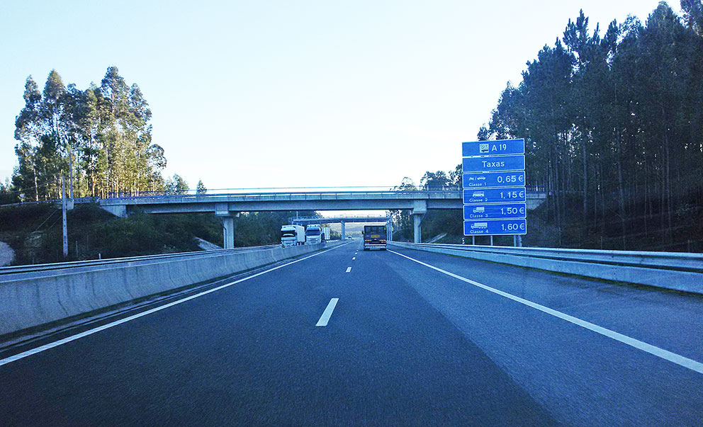 """Governo afasta possibilidade de """"suspensão"""" de portagens na A19"""