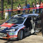 Campeão nacional sofre acidente grave no Rallye Vidreiro