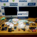 """Operação """"Serra Branca"""": seis detidos e quase 3.000 doses de droga apreendidas"""