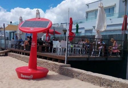 Praias da região têm wi-fi gratuito durante o verão