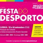 Programa da Festa do Desporto 2018