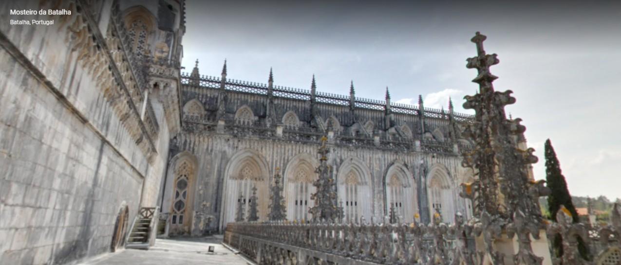 Site da Google já permite visita virtual gratuita aos terraços do Mosteiro da Batalha