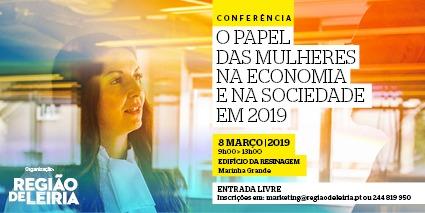 """Conferência debate """"O papel das mulheres na economia e na sociedade"""""""