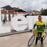 """Carlos Vieira pedala pela paz em """"terras de Cristo"""""""