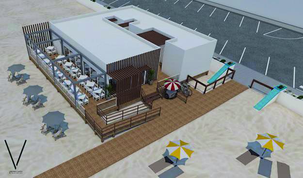 Moradores e amigos do Casal Ventoso projetam novo apoio de praia no Pedrógão