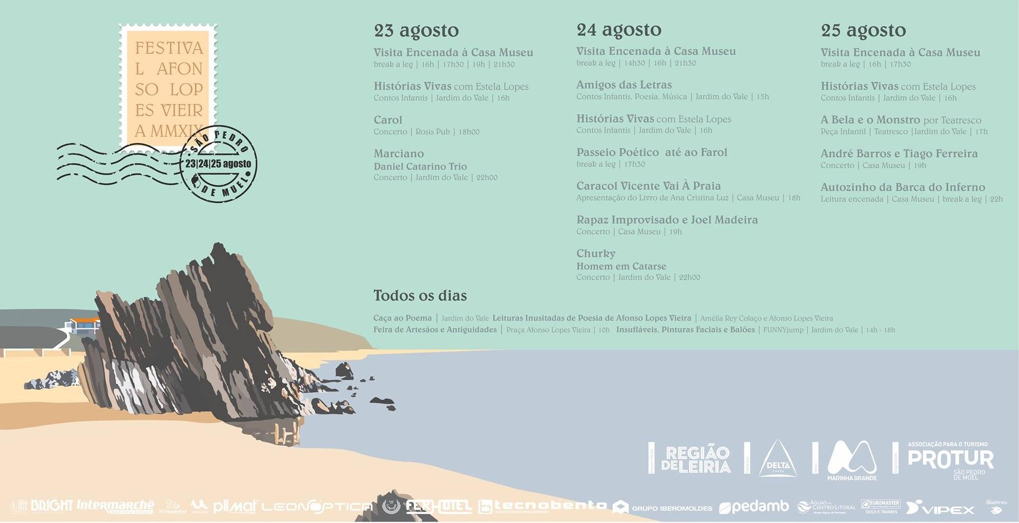 Programa Festival Afonso Lopes Vieira 2019