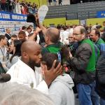 Campeão europeu Jorge Fonseca oferece medalha de ouro a judoca da Marinha Grande