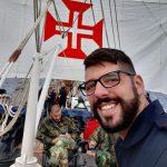 Marinheiro da Nazaré parte em viagem de circum-navegação de um ano