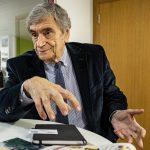 Antigo ministro da justiça Álvaro Laborinho Lúcio em entrevista
