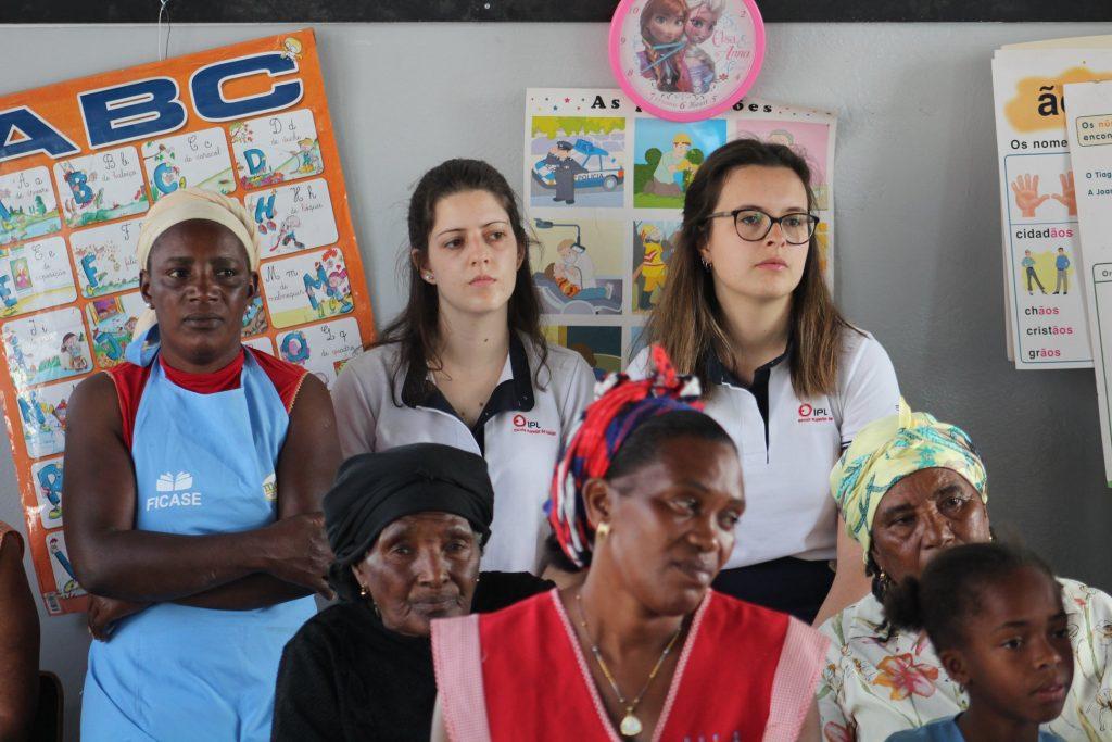 Estudantes da ESSLei em Cabo Verde