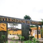 Entrada da Universidade de Santiago, em Cabo Verde