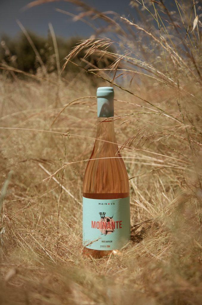 Vinho rosé Mainova