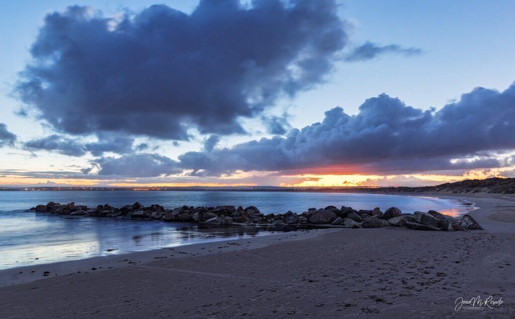 Praia da Gamboa em Peniche
