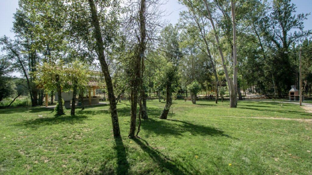 imagem do parque de merendas de amor, no concelho de leiria