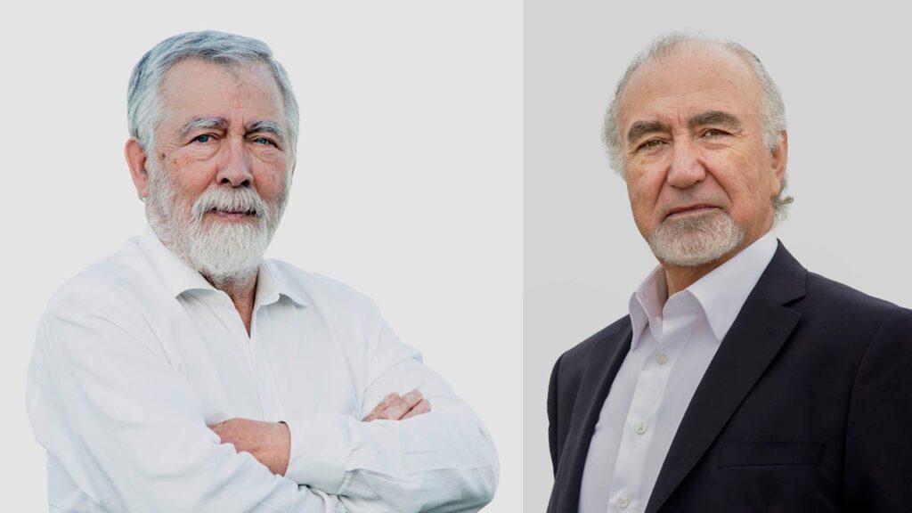 Rostos de Aires Henriques e Amílcar Campos, candidatos da CDU a Pedrógão Grande